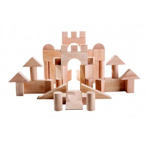Byggklossar 50 st  - extra stora