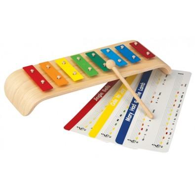 Xylofon instrument i trä
